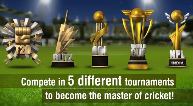 5 different tournaments to become master of cricket