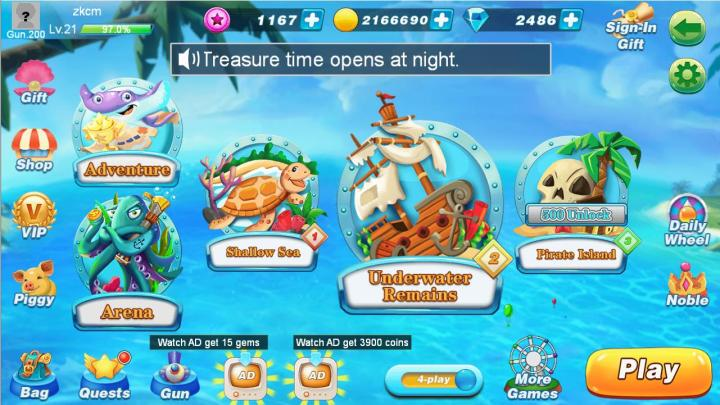 BanCa Fishing APK MOD Unlimited Money
