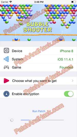 Bubble Shooter Hack and patch