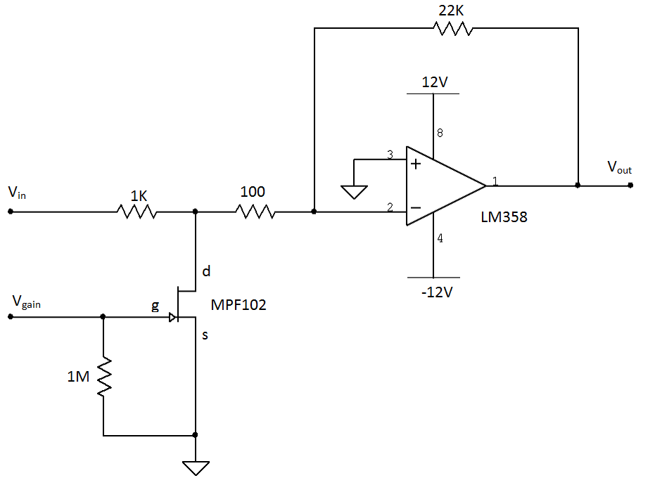 voltage divider amplifier circuit design