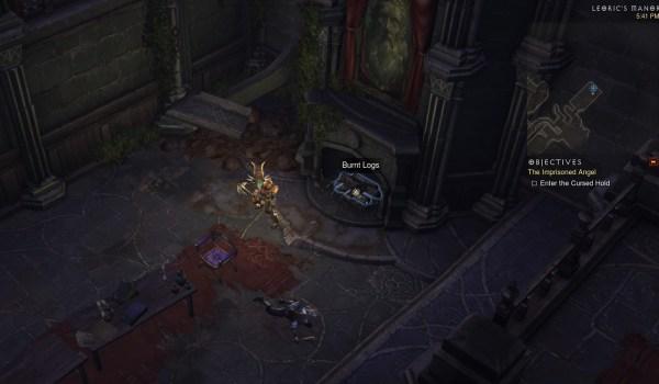 Diablo 3 : Trouver le tibia de Léoric