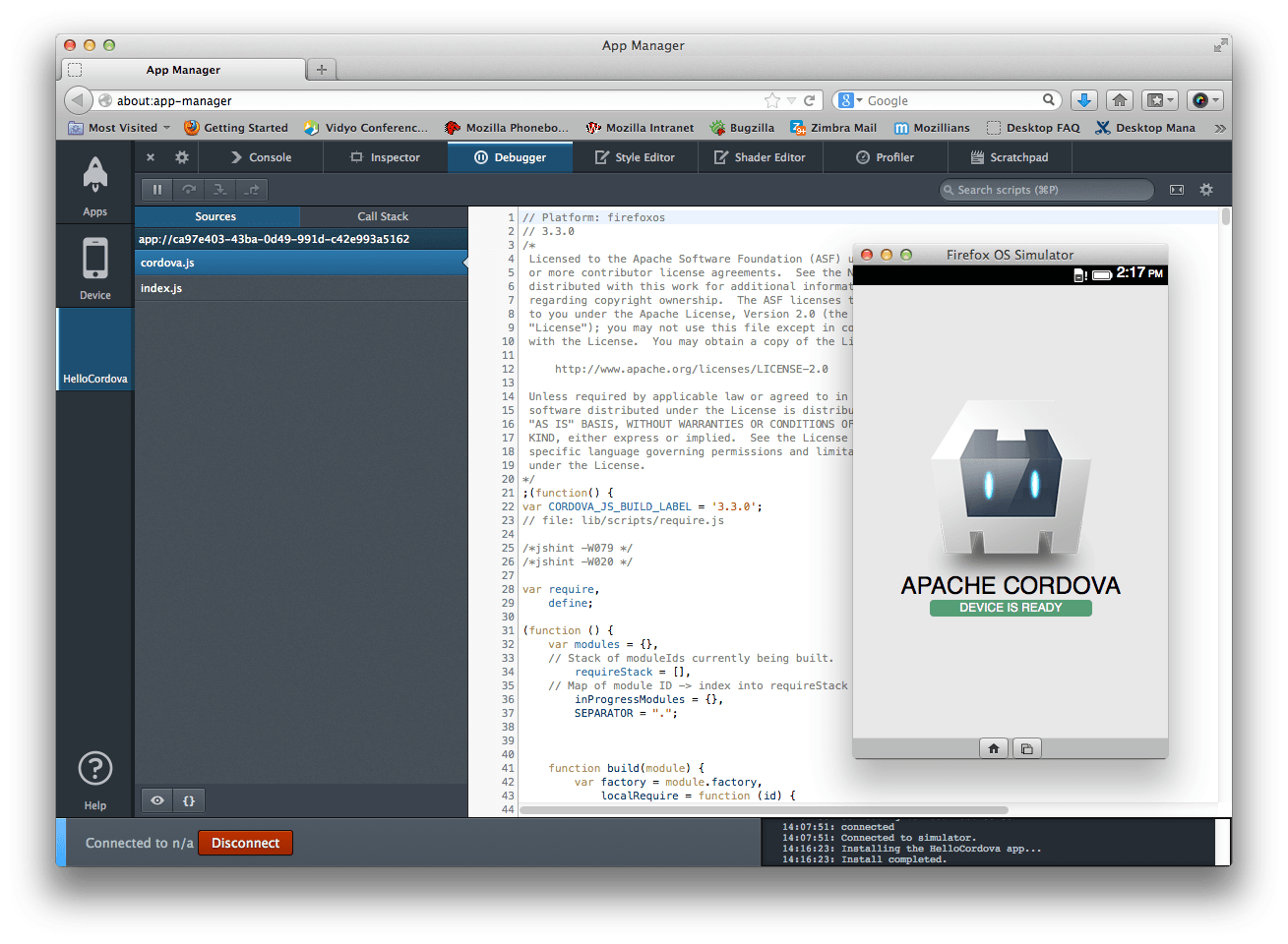 Building Cordova Apps For Firefox OS ★ Mozilla Hacks – The