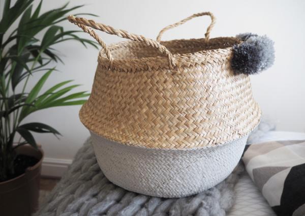 Ikea FLADIS Dipped Basket