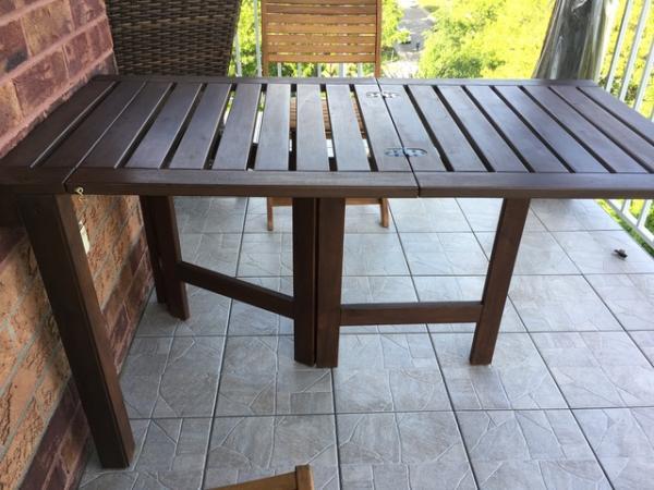 Ikea APPLARO Folding Outdoor Table Hack