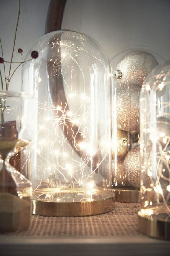 Ikea BEGAVNING Glass Bell Jar Lights