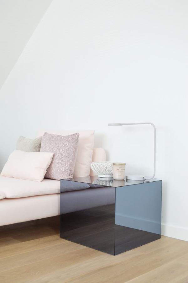 Ikea LACK Mirrored Side Table Hack