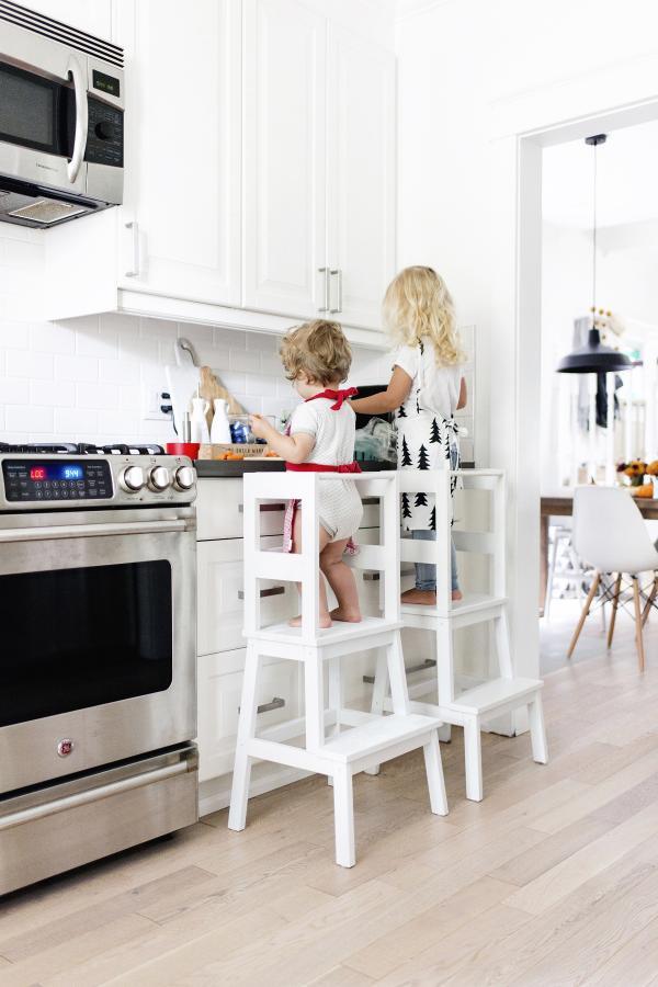 Ikea BEKVAM Kitchen Learning Tower Hack