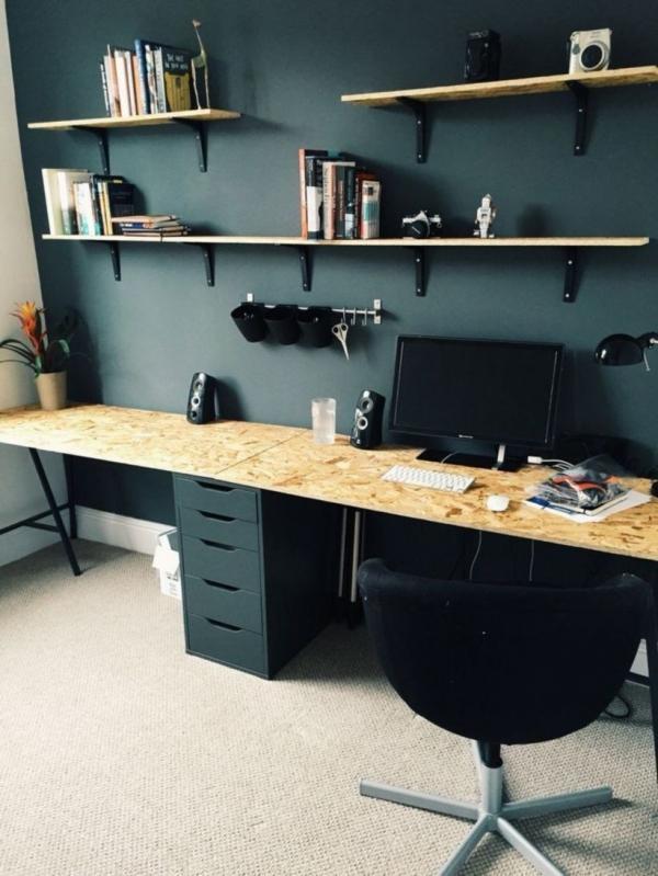 Ikea Chipboard Desk Hack