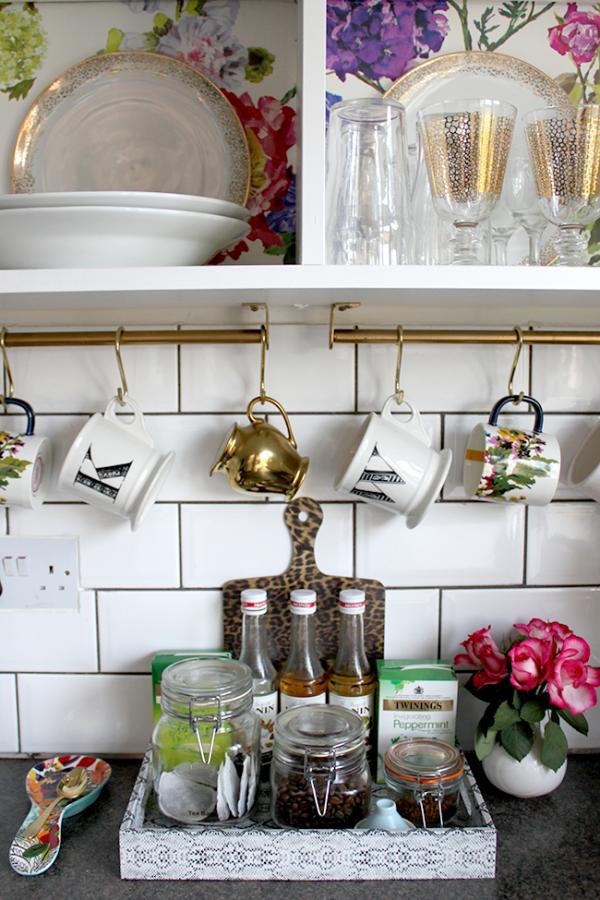 Ikea GRUNDTAL Kitchen Cup Rack Hack