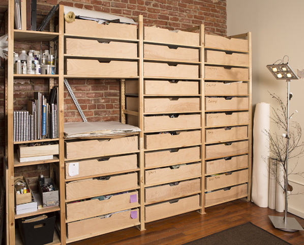 Ikea Garage Shelving Storage Hack