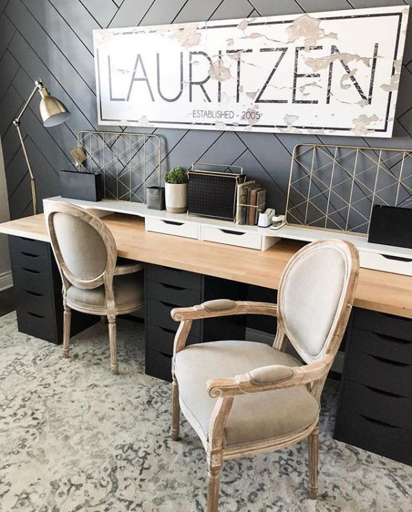 Ikea Glamorous Desk Hack