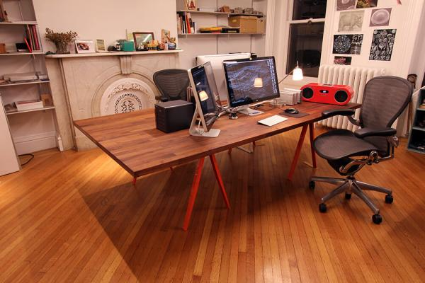Ikea Large Desk Hack