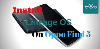 Install Lineage OS on Oppo Find 5