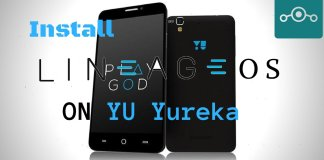 Install Lineage OS on YU Yureka
