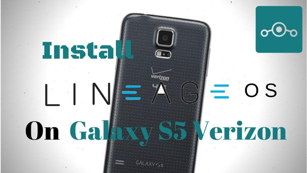 Lineage OS on Samsung Galaxy S5 Verizon
