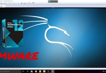 Kali linux on vmware