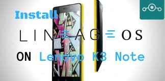 Install Lineage OS on Lenovo K3 Note