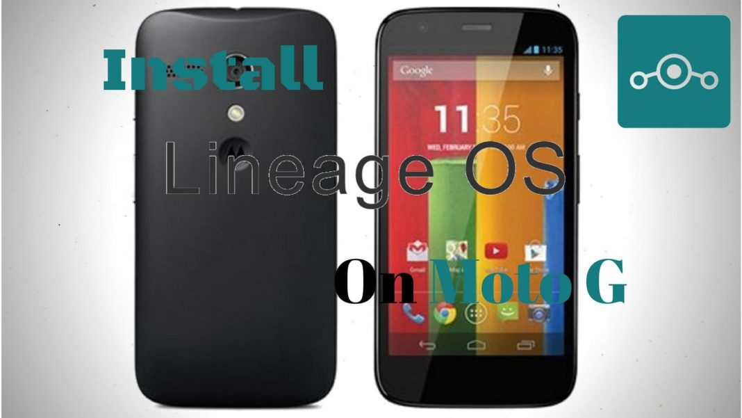 Lineage OS onMoto G