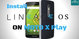 Install Lineage OS 14.1 On Moto X Play (lux)