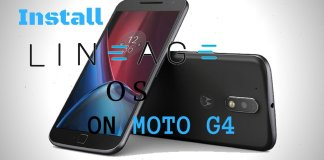 Install Lineage OS on Moto G4 G4 Plus (Athene)