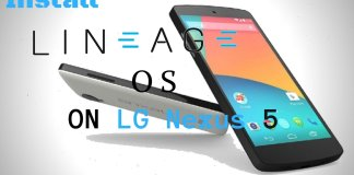 Install Lineage OS on LG Nexus 5