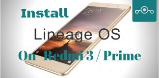 Lineage OS on Xiaomi Redmi 3
