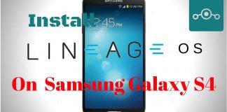 Install Lineage OS 14.1 On Samsung Galaxy S4 (jfltexx)