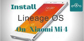 Install Lineage OS on Xiaomi Mi 4