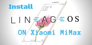 Lineage OS on Xiaomi Mi Max