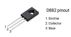 D882 pinout