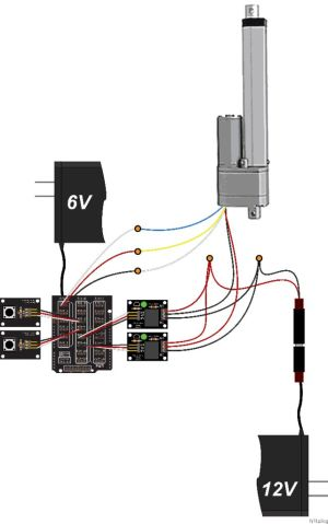 Control a Large Linear Actuator With Arduino  Hacksterio