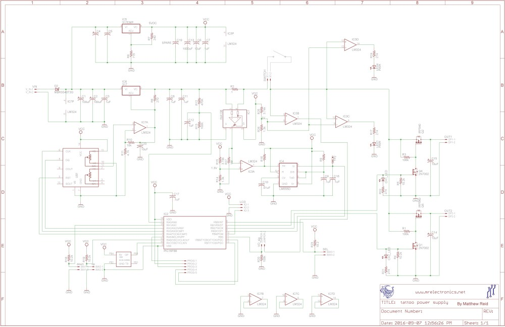 medium resolution of diagram also tattoo power supply on tattoo gun power supply diagram tattoo power supply schematic for wiring