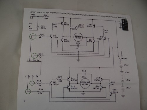 small resolution of  and r16 from the motor controller board to disconnect the on board remote controller integrated circuit in the next schematic i will show how i took