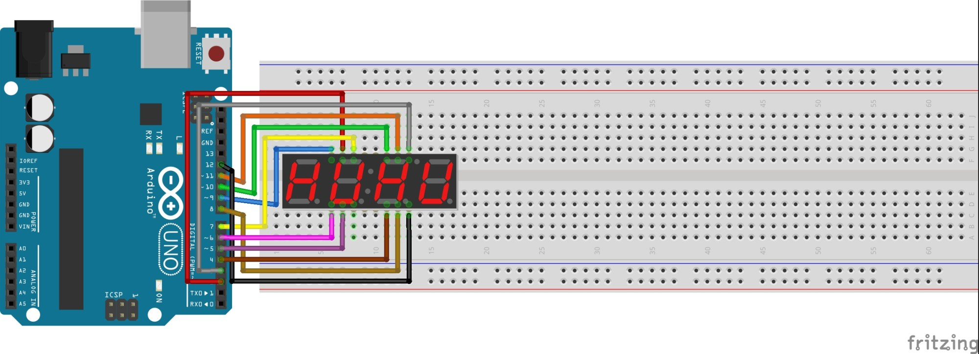 hight resolution of 4 digit 7 segment display connections kasufbbpfq