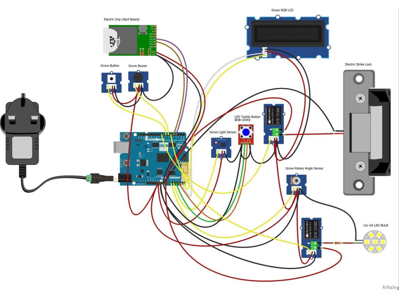 electric strike lock wiring diagram [ 1280 x 960 Pixel ]