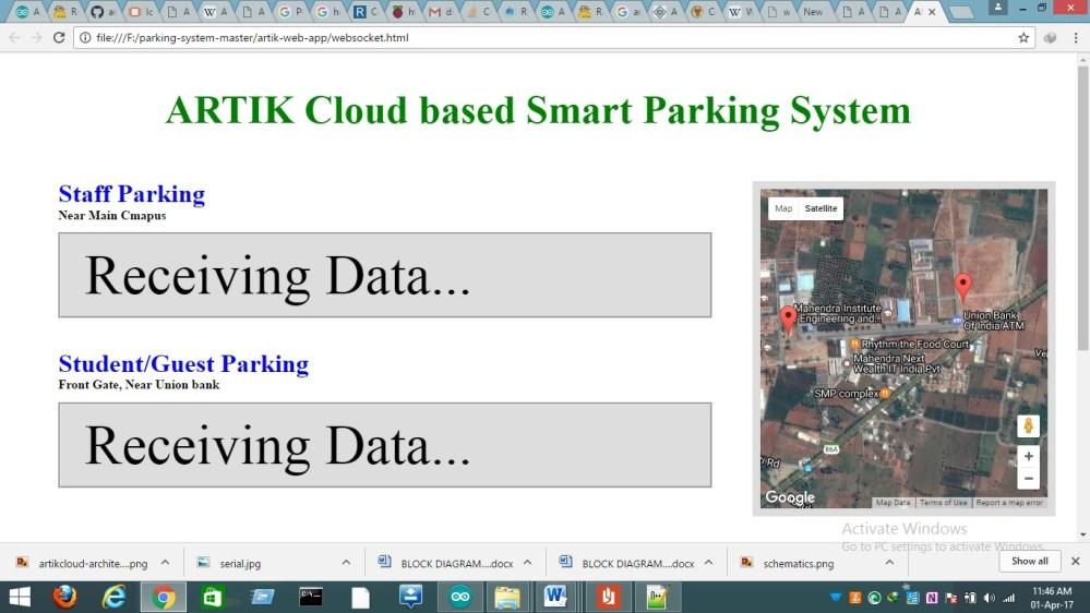 medium resolution of screenshot of web application