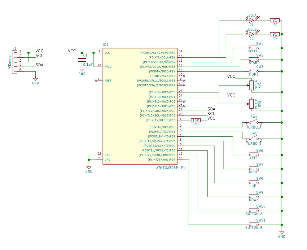 medium resolution of nes classic advantage schematic