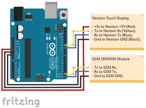 Lightweight Arduino GSM Mobile Phone  Hacksterio