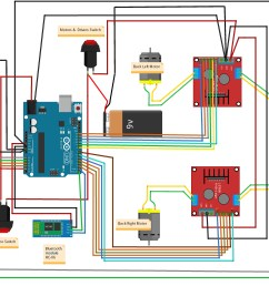 smartphone controlled arduino 4wd robot car hackster io nissan wiring diagrams schematics vehicle wiring diagrams ford [ 4461 x 2766 Pixel ]