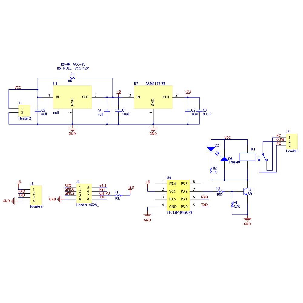 Circuit Diagram For Relay Module