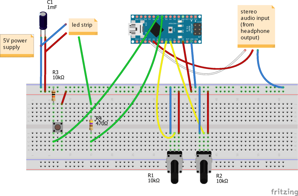 medium resolution of vu meter schematic