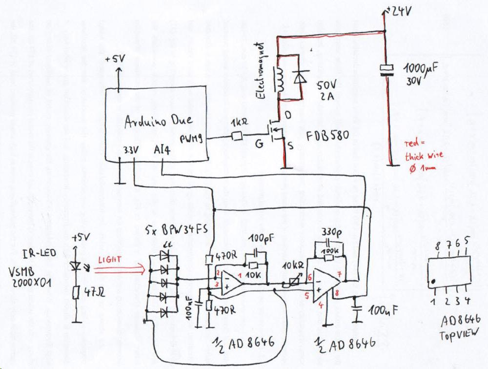 figure 3 ir led circuit