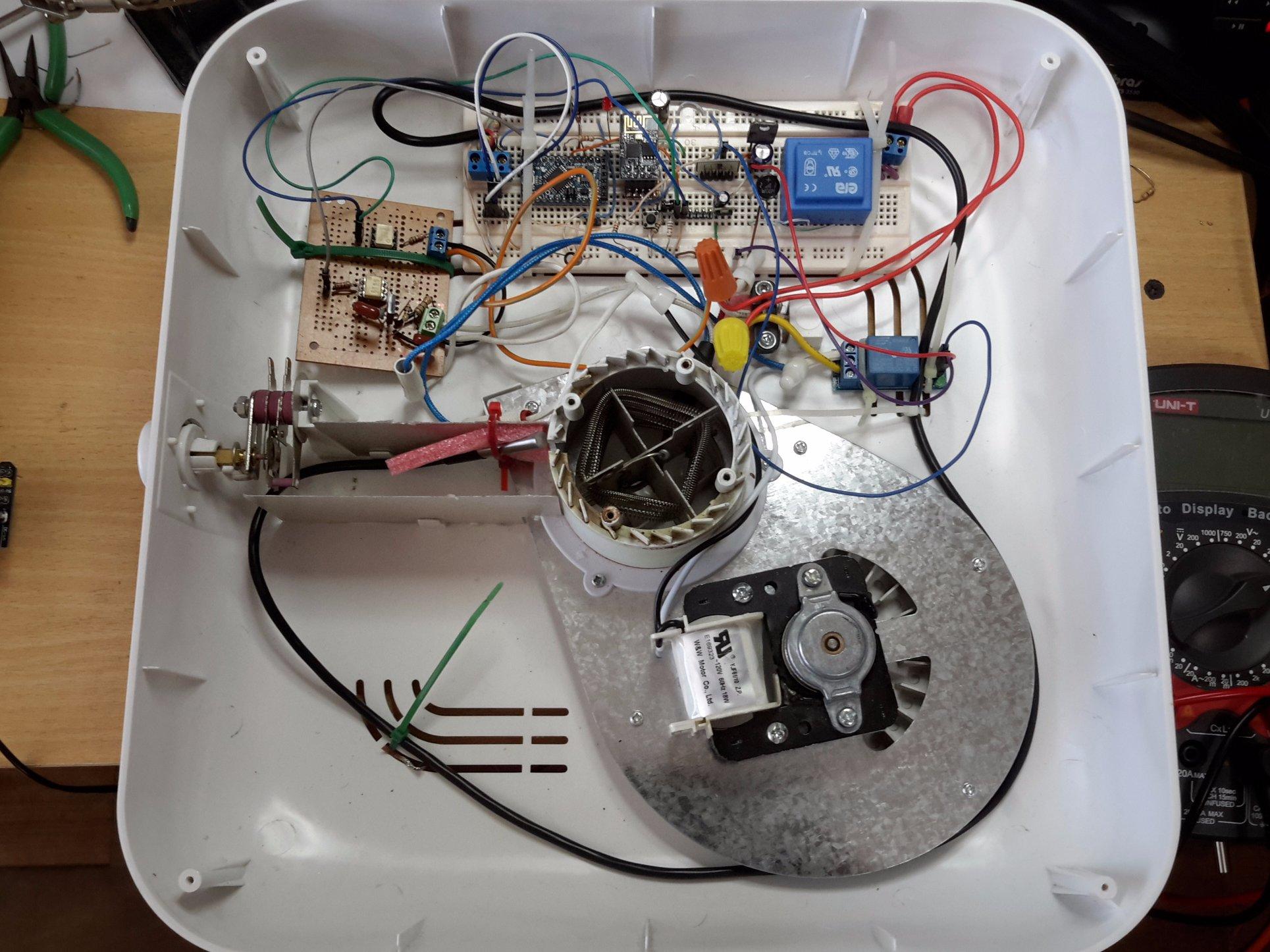 medium resolution of smart dehydrator cooking appliance alexa ready arduino project hub wiring diagram also arduino linear actuator wiring besides mini cooper