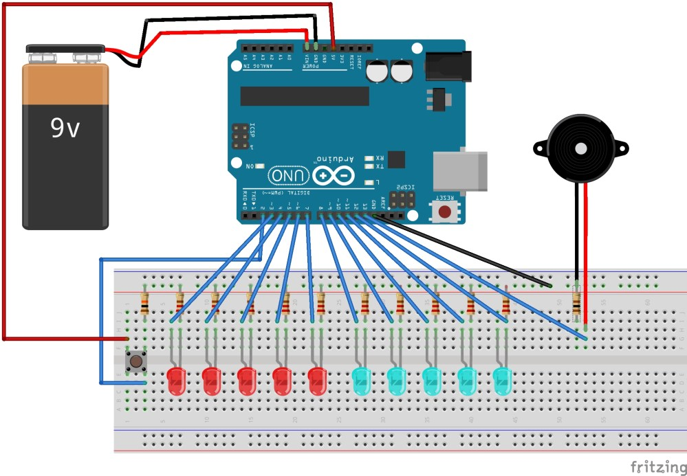 medium resolution of  with pin 2 and connect down it to gnd rail using a pull down resistor of 10k ohm connect 5v with another button pin as shown in the circuit diagram