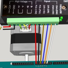 3 Phase Two Speed Motor Wiring Diagram Double Duplex Outlet Tb6600 Stepper Driver Tester - Hackster.io