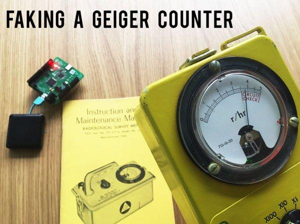 Geiger Counter Diagram Amateur Geiger Counter