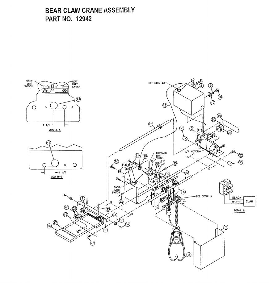 medium resolution of crane schematics wiring libraryclaw crane assembly illmirnlgy