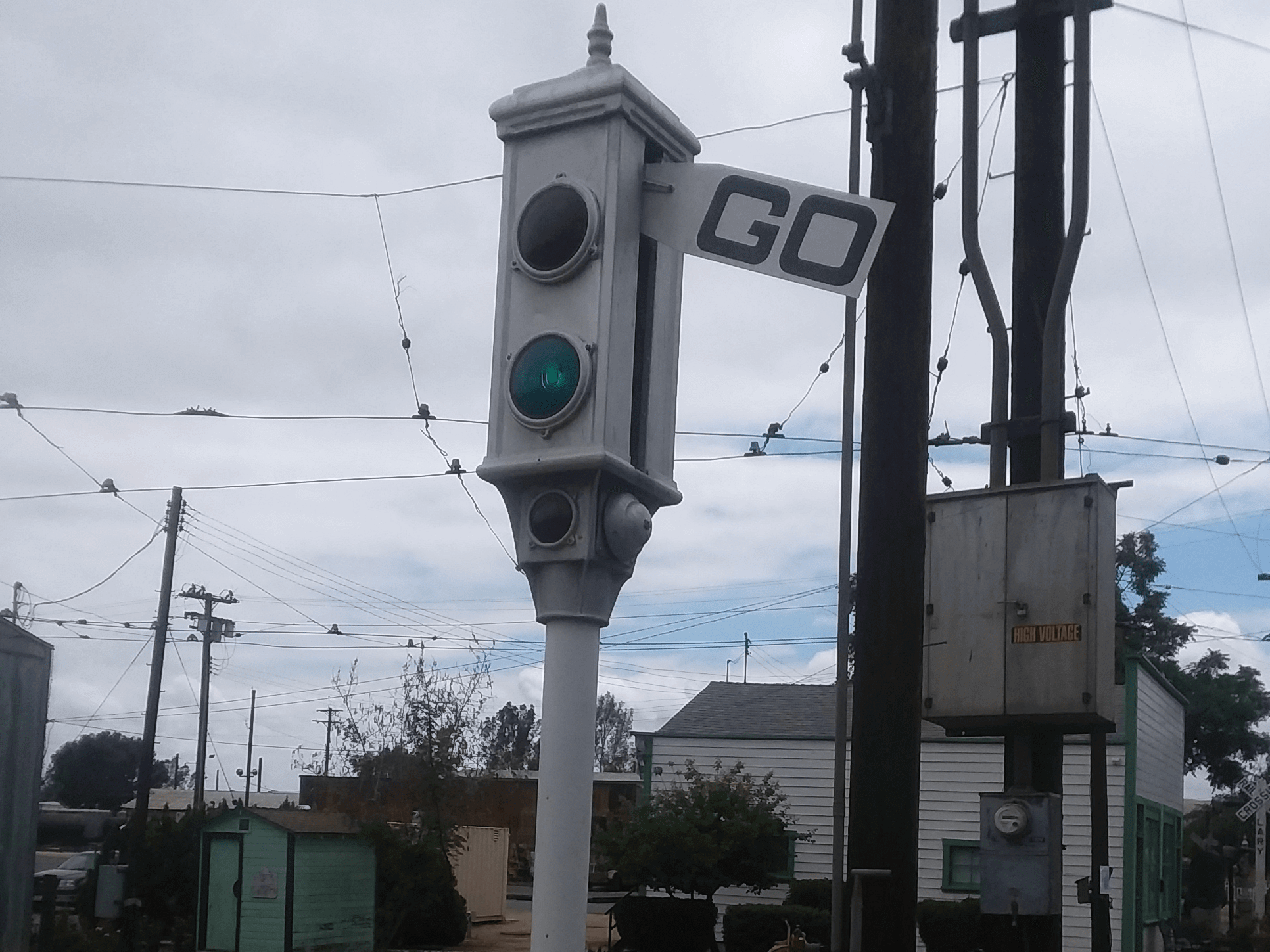 acme traffic signal almost 100 years old hackster io and powered traffic signal using on traffic signal light wiring [ 1932 x 1449 Pixel ]