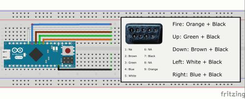 small resolution of arduino atari adaptor project hubrhcreatearduinocc atari 2600 wiring diagram at mywebline de