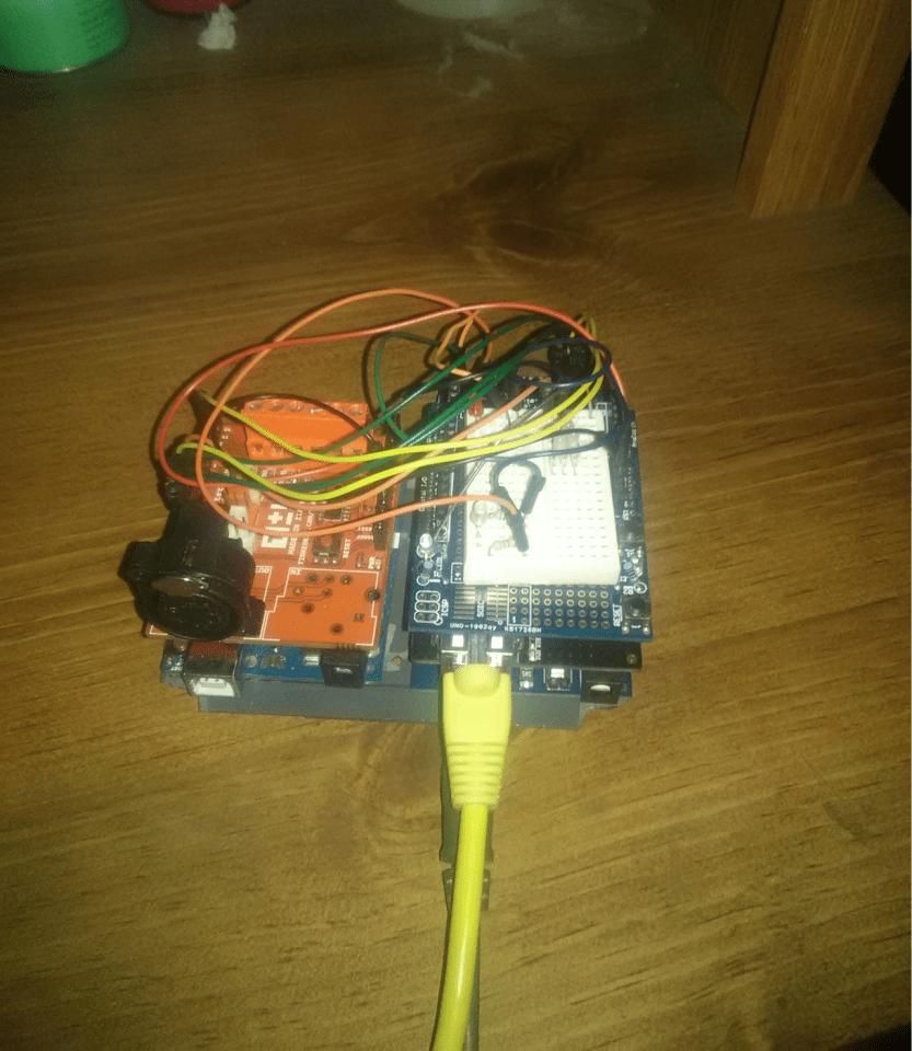 web operated dmx controller [ 833 x 960 Pixel ]